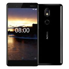 """Nokia 7 64GB, RMA 6GB, Black, Dual-Tone Flash, Dual SIM, Unlocked 16MP 5.2"""" USA"""