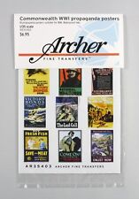 Archer 1/35 Commonwealth Propaganda Posters WWI (18 posters) [Printed] AR35403