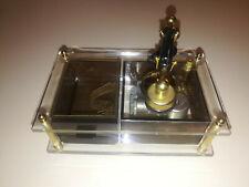 vintage Sankyo music jewelry box revolving telephone Hong Kong