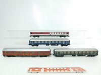 BG826-1# 4x Lima H0/DC Speisewagen DB/Schlafwagen DSG/Personenwagen