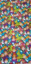 KIDSTUFF Once Upon a Time Colorful Sewing Quilting Fabric 1 Yard