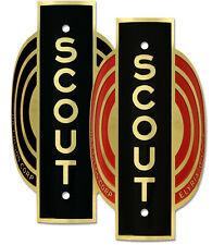 Colson Scout Bicycle Badge Emblem ACID ETCHED Color CHOICE