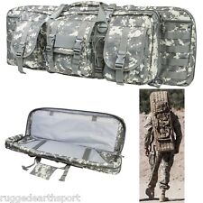 "Tactical VISM Digital CAMO 42"" Double 2 Carbine Rifle Gun Case Backpack"