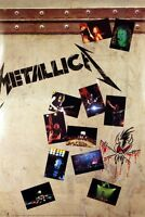 Metallica 1993 Live Sh*t Original Double Sided Promo Poster