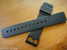 Genuine Casio MQ-24  MQ-24CC 19mm 16mm resin rubber strap band bracelet NEW