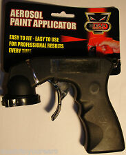 AEROSOL SPRAY PAINT APPLICATOR TRIGGER HANDLE CAN EASY TO USE CAR CANVASS NEW