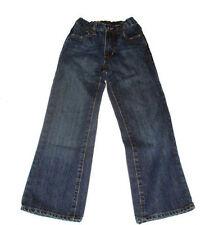 Old Navy Boys Boot Fit Dark Washed Navy Denim Jeans 10 Slim