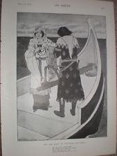 La triste storia di Tristram e isolt da Gilbert James 1899 Old print