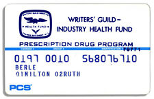 Milton Berle Writers Guild Prescription Coverage Card
