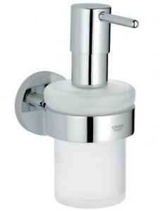 Grohe ESSENTIALS SOAP DISPENSER 126m Wall Mounted CHROME *German Brand