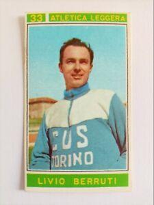 Sticker #33 :Berruti- CAMPIONI DELLO SPORT 1967-68 - Panini (Italy) - MINT