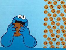 Jersey - Krümelmonster - Panel - Kekse - Sesamstraße - Kinderstoff