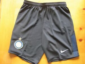 FC Internazionale Milano Inter Milan Nike Authentic Shorts Size Youth L Soccer