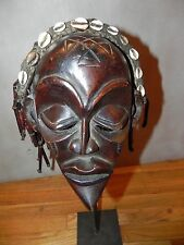 Arts of Africa - Chokwe Mask - DRC - Congo, Zambia - Angola (STAND NOT INCLUDED)