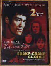 The Real Bruce Lee And Snake-Crane Secret DVD.