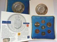 Kursmünzenset Großbritannien 1988