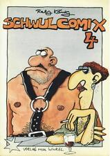 Ralf re, Gay-COMIX 4 (z1-2, 1. edizione), triangolo rosa