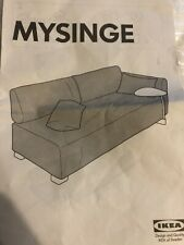 NEW Sealed IKEA Mysinge 2-Seat Sofa Slip Cover in White
