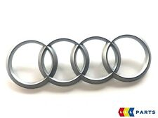 NEW GENUINE AUDI A1 A3 A4 A5 A6 Q5 TT ENGINE BAY RING COVER EMBLEM 4H0103940A