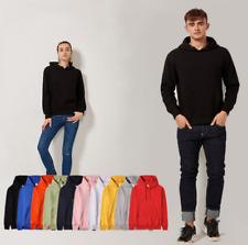 Plus Size Men Women Hoody Cotton Jumper Casual Sweatshirt Hoodie Pullover