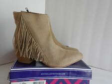 "Seychelles ""Good Advice"" Womens Size 7.5 sand Apron Casual Booties"