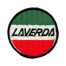 Laverda circle Embroidered Patch