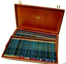 Derwent  R32089 Artists Pencils Full Set of 72 Colours in Wooden Display Case