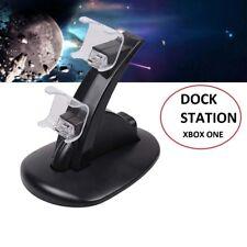 Dock Station ricarica USB Supporto XBOX ONE Dual Joystick LED Caricatore