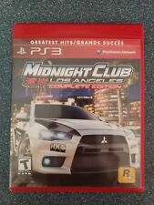 Midnight Club: Los Angeles -- Complete Edition (Sony PlayStation 3) CIB; Tested