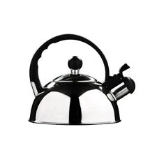 1.0 L Stainless Steel Whistling Kettle, 0.3 mm - Mirror Finish
