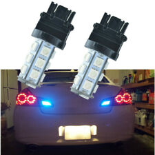 2Pcs Ice Blue 3157 3156 LED Tail Brake Stop Backup Reverse Light Bulbs 8000K