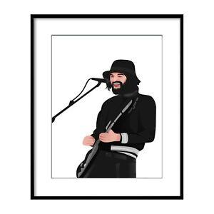 Sergio Kasabian - Music Band Prints Posters Wall Art A2 A3 A4 A5