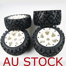 White Front Rear All Terrain Tyre tire Wheel for Rovan KM HPI baja 5b SS