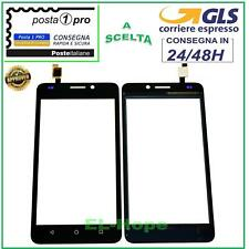 TOUCH SCREEN VETRO PER HUAWEI ASCEND Y635 Y635-L01 L21 RICAMBIO NERO BLACK