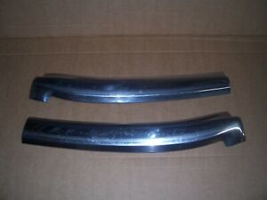 1971-1973 Mercury Cougar/Ford Mustang convertible top windshield stainless trim.