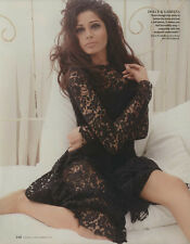 Freida Pinto 8pg INSTYLE magazine feature, clippings