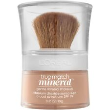 L'OREAL TRUE MATCH NATURALE GENTLE MINERAL MAKEUP FOUNDATION PLEASE SELECT SHADE