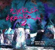 Turkish PSYCH 2x LP -TURKISH FREAKOUT 2  Baris Manco Cem Karaca Mogollar SEALED
