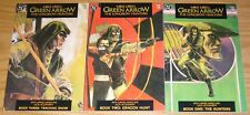 Green Arrow: the Longbow Hunters #1-3 VF/NM complete series - mike grell (1st)
