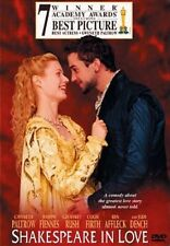 Dvd - Comedy - Shakespeare in Love - Gwyneth Paltrow - Joseph Fiennes - Dench