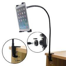 Universal Gooseneck 360 Lazy Bed Desk Tablet Stand Holder Mount For iPad Tablets
