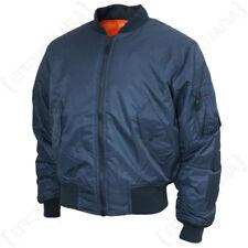 Cappotti e giacche da uomo blu senza marca