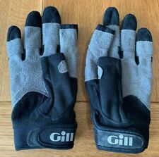 Used Children's Gill Deckhand Sailing Gloves Long Finger Size Junior