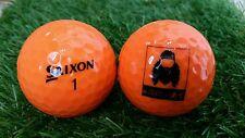 6 x NEW SRIXON AD333  DUCK DYNASTY ORANGE GOLF  BALLS