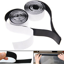 Sticky Back Self Adhesive Hook And Loop Tape 20mm Black Or White Fastener Tape