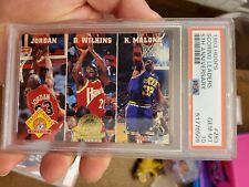 PSA 10 1993/94 Hoops Scoring Leaders 283 5th Gold Michael Jordan Wilkins Low Pop