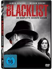 6 DVDs * THE BLACKLIST - SEASON / STAFFEL 6 # NEU OVP <