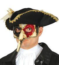 Uomo Travestimento Veneziano Maschera di Carnevale Martedì Grasso 4c979f5fed66