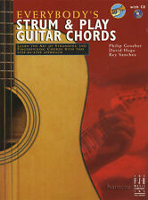 Tutti questo accordo & Play chitarra corde musica libro / cd impara a giocare metodo
