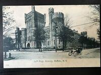 Vintage Postcard>1901-1907>74th Regiment.>Armory>Buffalo>N.Y.